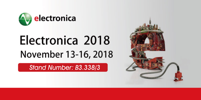 Electronica 2018 Stand Number