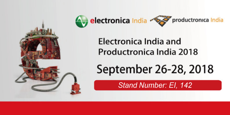 Electronica India 2018 Stand Number