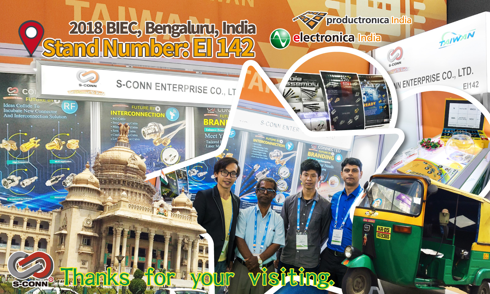2018 Electronica India :Thanks for your visiting.