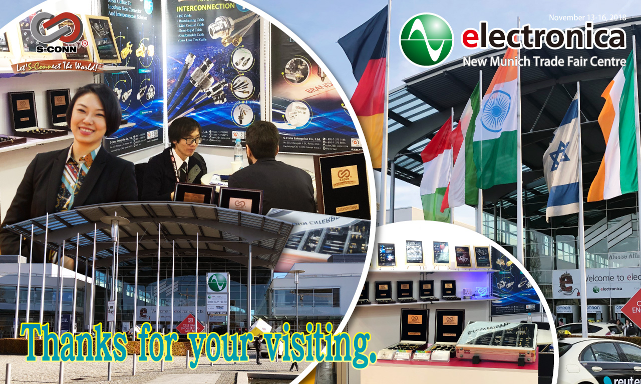 2018 Electronica Munich : Thanks for your visiting.
