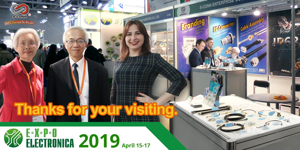 2019 Expo Electronica Moscow:Thanks for your visiting.