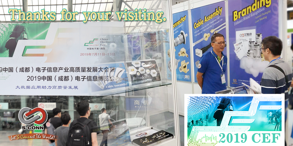 2019 China Electronics Fair West Show : Thanks for your visiting.
