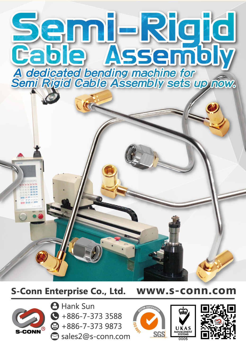 Semi-Rigid Cable Assembly