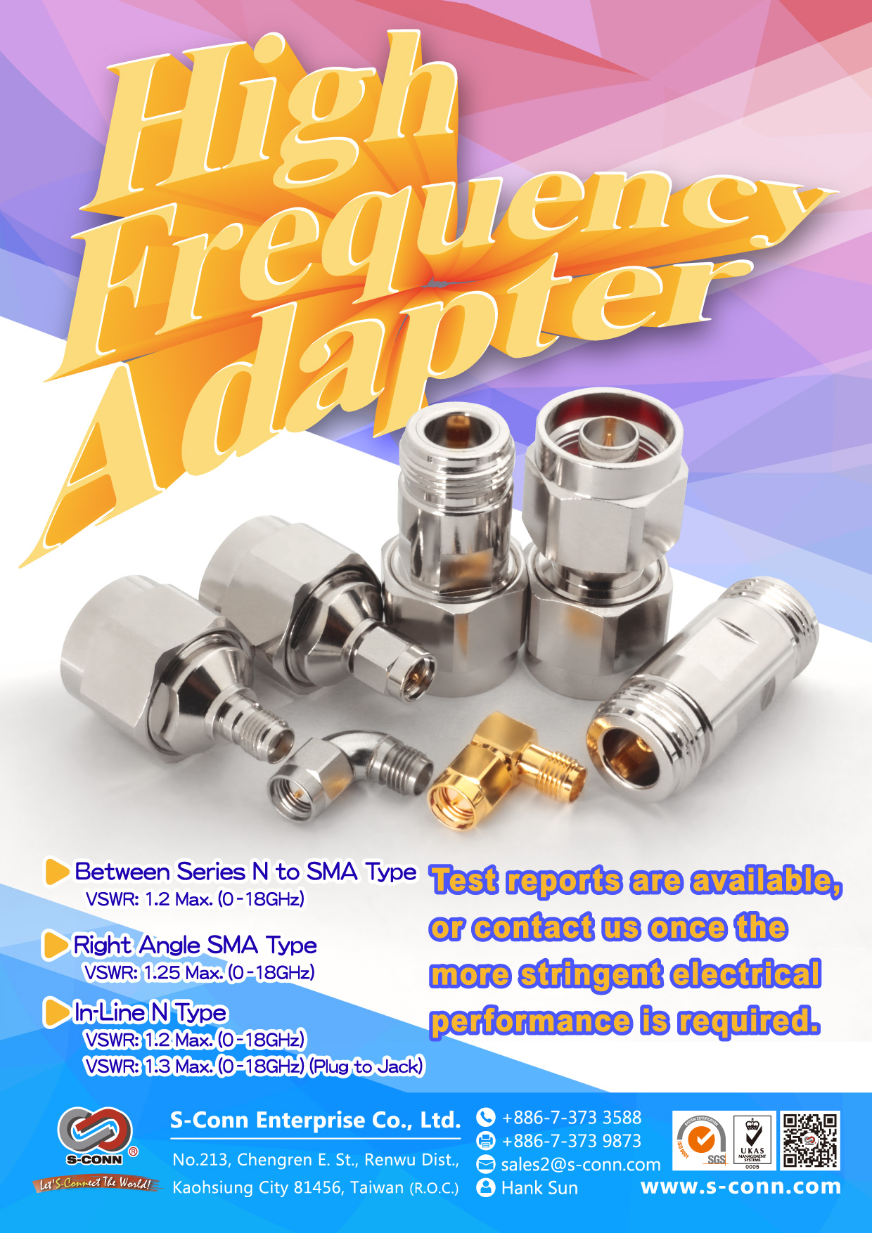 High Frequency Adapter