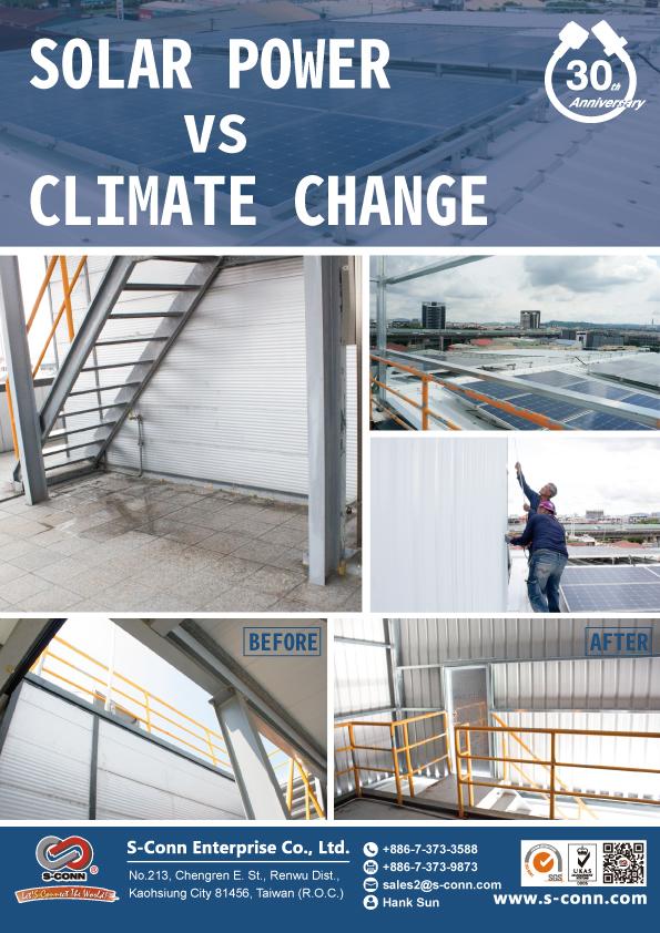 SOLAR POWER vs CLIMATE CHANGE